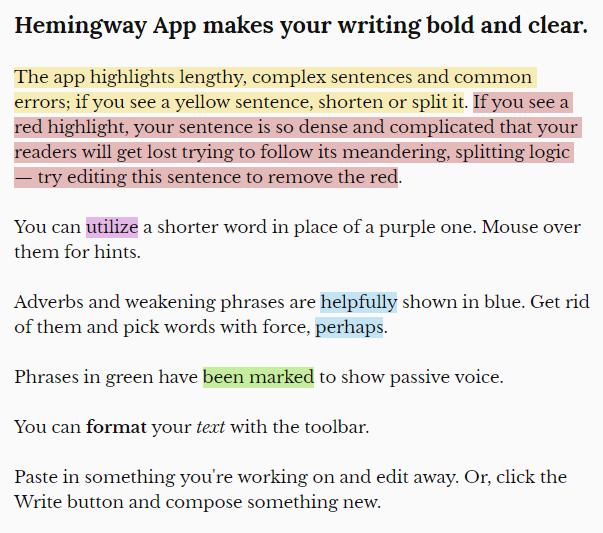hemingway-app