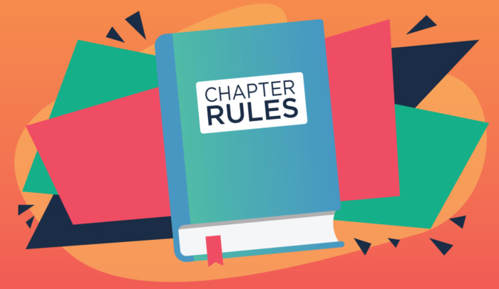 Book of chapter rules