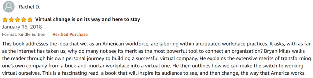 Virtual Culture by Bryan Miles Review
