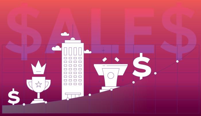 book sales illustration