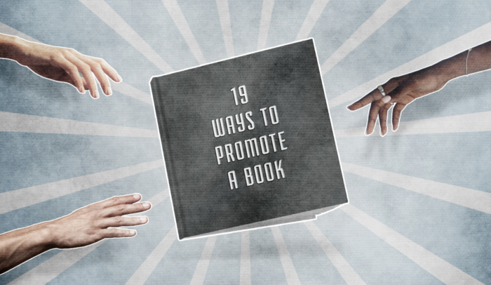 feature image promote a book