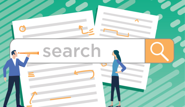search bar illustration