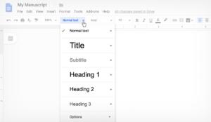 google-doc-text-styles