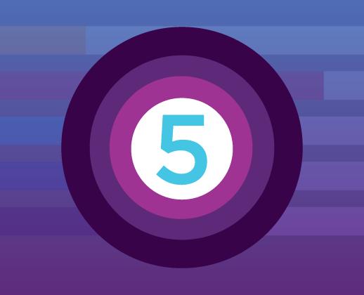5 circle toc image