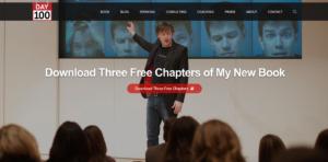 joey coleman website screenshot