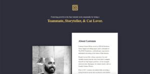 lorenzo gomez website screenshot