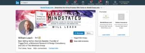 will leach blog screenshot