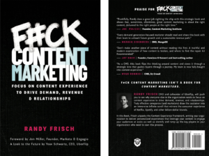 Randy Frisch book cover in English