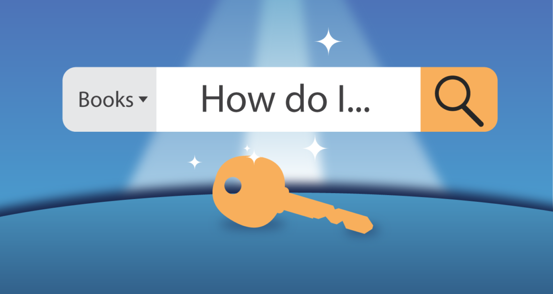Keyword search box and key