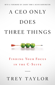 A CEO Only Does Three Things