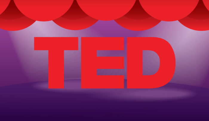 illustration of ted talk logo