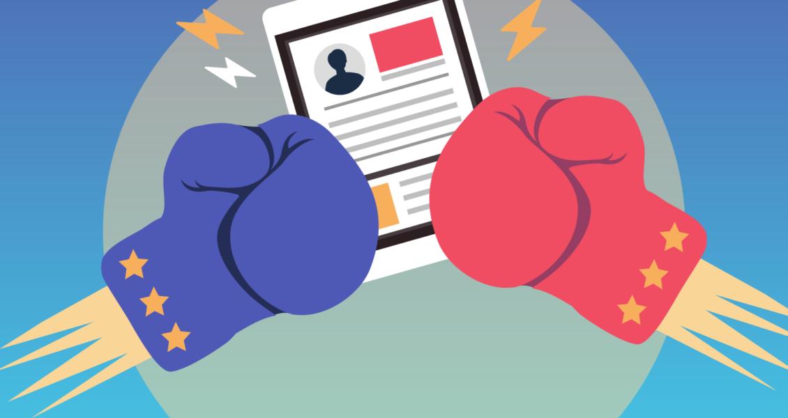 illustration of boxing gloves