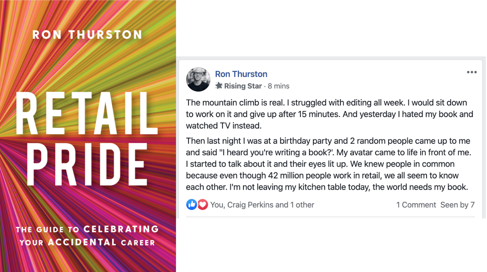 Retail Pride: A post from the Scribe Guided Author community