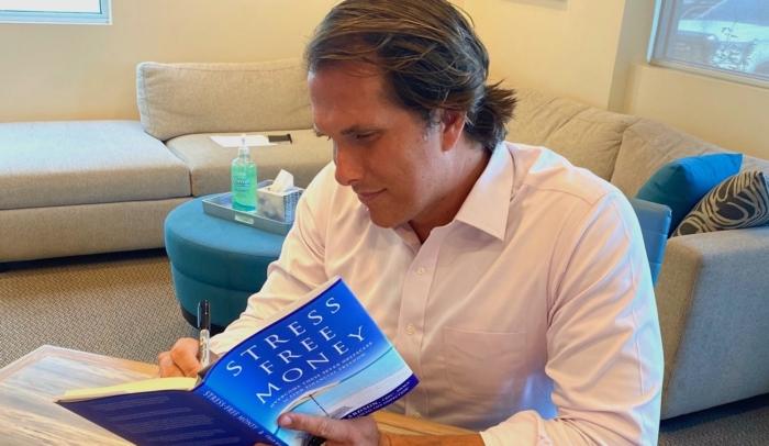 chad willardson signing book