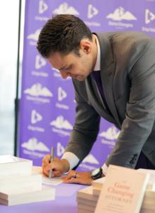 michael mogill signing books
