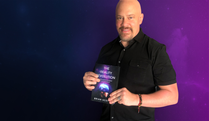 feature image Brian holding book