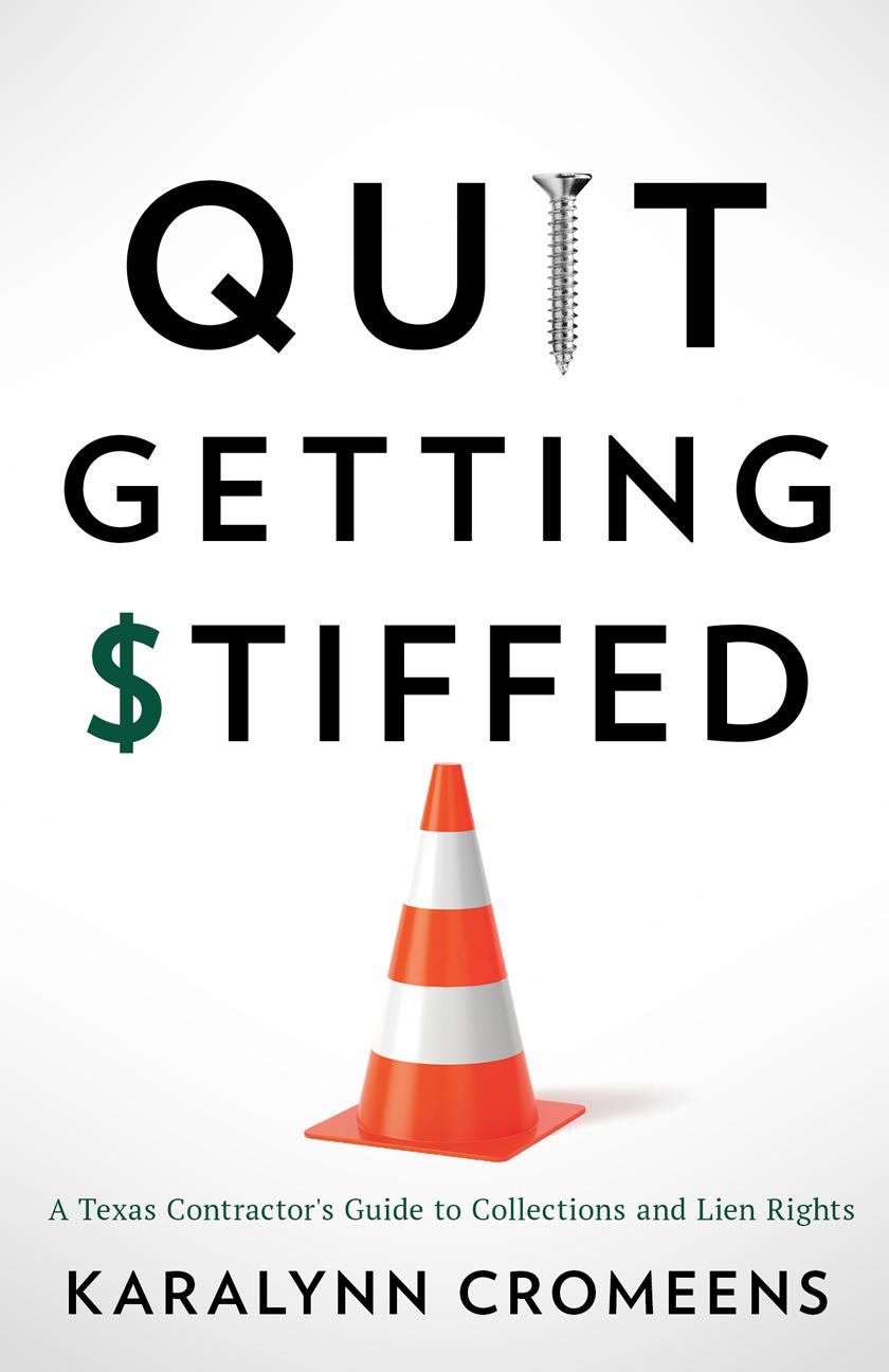Quit Getting Stiffed