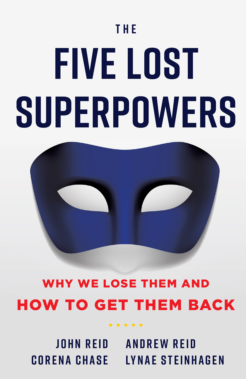 The Five Lost Superpowers